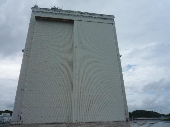 Tanegashima Space Center: 格納庫