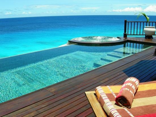 Fregate Island Private : terrasse de la villa n°8