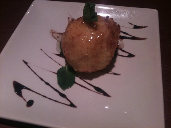 Avani Asian Indian Bistro: For those who love coconut.. I highly recommend the fried icecream! Yum :)