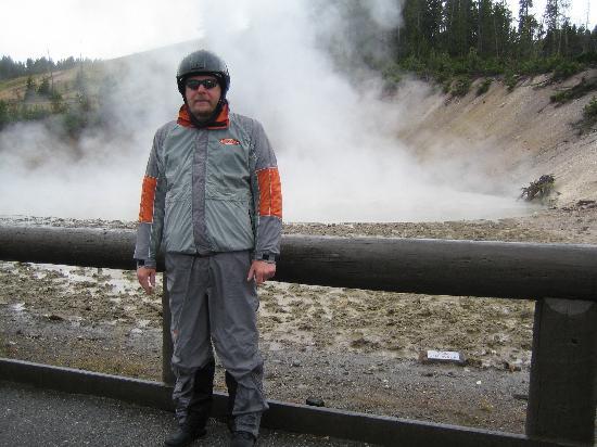 Yellowstone Lake: Sehr kalt