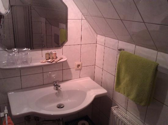 Hotel Schluister Park : Badezimmer