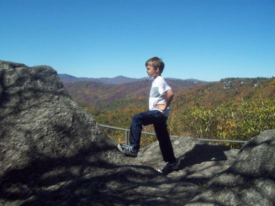 The Blowing Rock: King of the mountain!