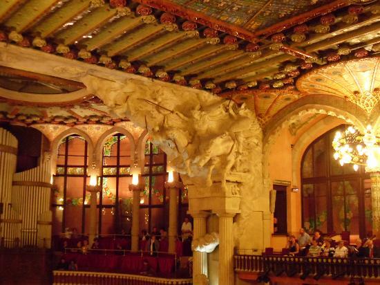 Palais de la Musique Catalane (Palau de la Musica Catalana) : the details are amazing