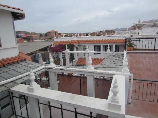 El Hostal de Su Merced : The Roof