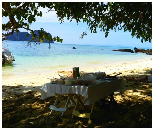 Simba Sea Trips: great picnic lunch...