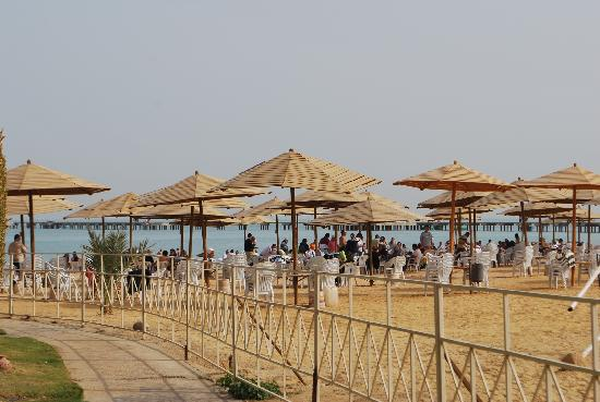 Stella Di Mare Sea Club Hotel, Ain Sukhna: The beach of the hotel