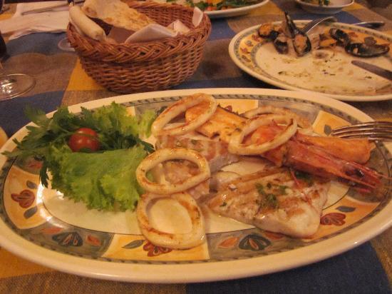 Da Sergio: piatto arrosto pesce