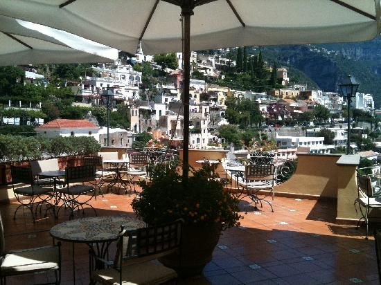 """Hotel Posa Posa: terrace restaurant """"Mirage"""" with view"""