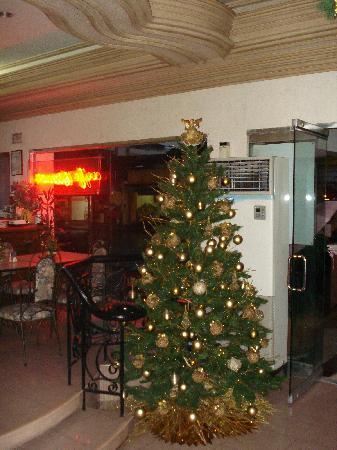 Hotel Galleria Davao : Christmas tree