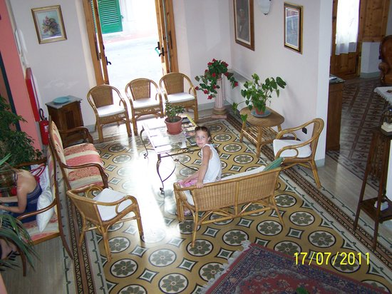 Hotel Savoia e Campana : Double room with extra bed