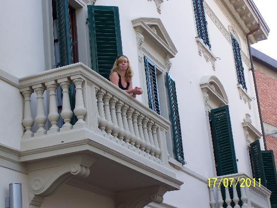 Hotel Savoia e Campana : balcony