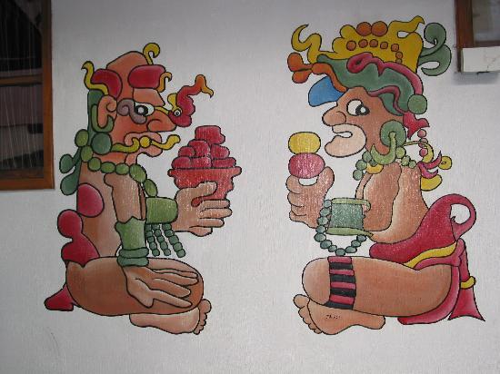 Posada Los Encuentros: Mural in Dining room