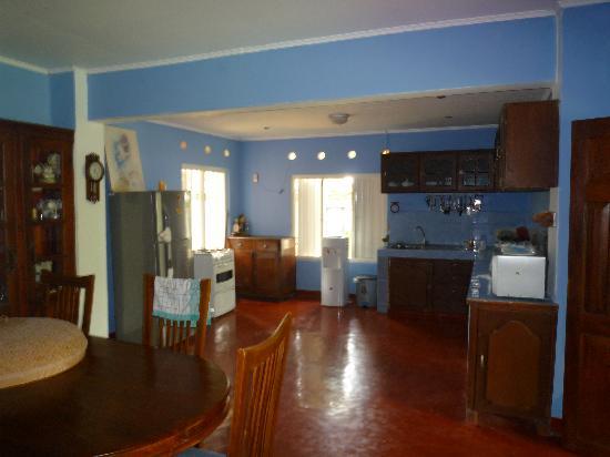 Kleine Villa : Küche