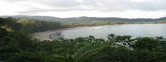 View over Kamala Beach
