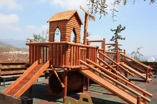 Santa Marina Retreat: Castle of Troy playground