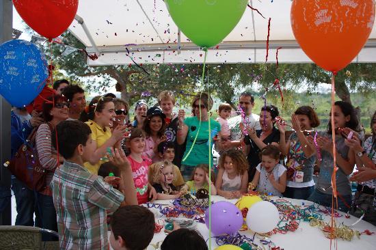 Birthday Party at Santa Marina Retreat
