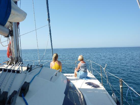 Sailing naturist