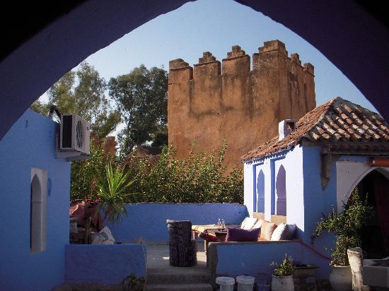 Hotel Hicham: terrace