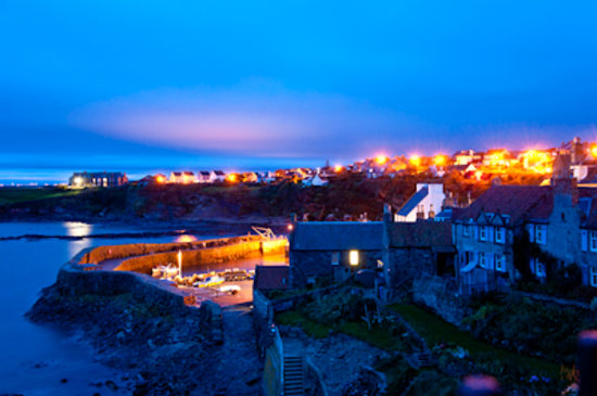 Honeypot Guest House & Tearoom: Crail Harbour
