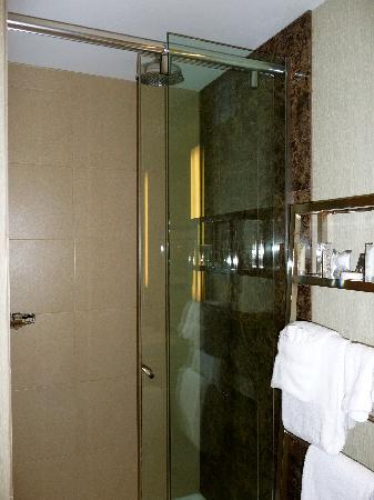 مونرايز هوتل: Great shower, just a little small