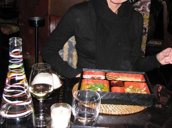 Buddha Bar: Un piatto del locale (cucina tailandese)
