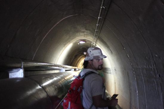 Darwin Wharf Precinct: tunnel