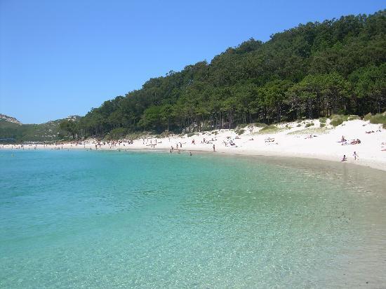 Hotel Compostela: Playa de Rodas, Islas Cies