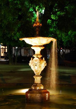 Hotel Compostela: Fuente Plaza Compostela