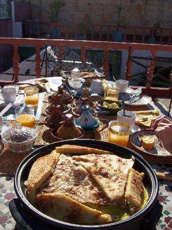 Riad Lola Halima : Breakfast