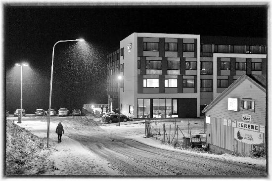 Thon Hotel Kirkenes: Winter and snow