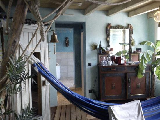 Zeit & Traum Hotel: sauna a gauche