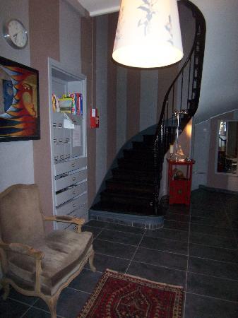 Maison Zen: entrance