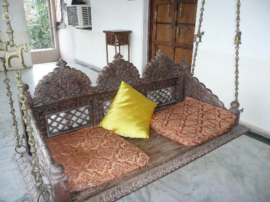 Castle Bijaipur: Schaukel auf dem Flur