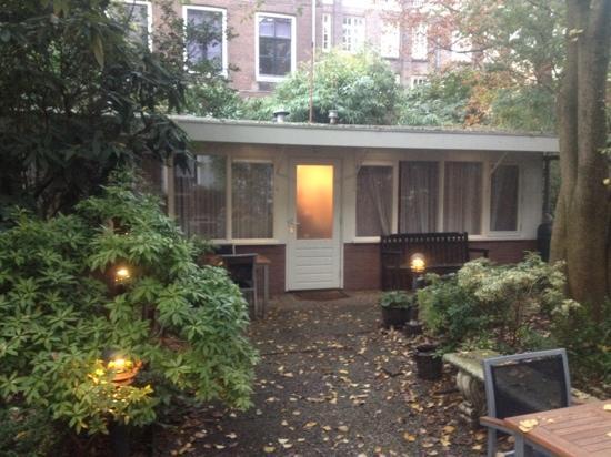Prinsengracht Hotel: the garden annex