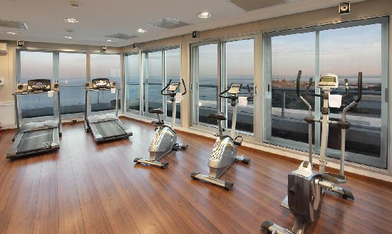 Fitness center picture of cala di volpe boutique hotel for Boutique center