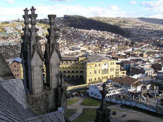Quito Historical Old Town Tour: Quito - Basilica