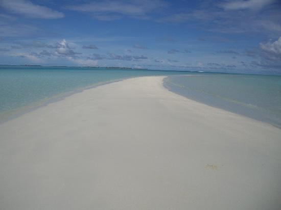 Rihiveli by Castaway Hotels & Escapes : langue de sable