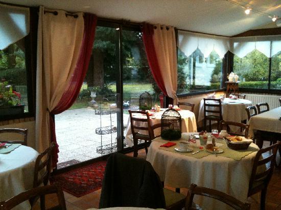 Villa Marjane : La salle du petit déjeuner