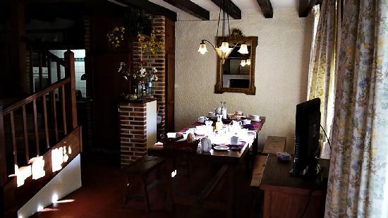 Le Grand Menasson : La salle du petit déjeuner