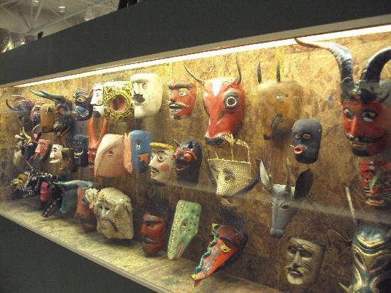 Museum of International Folk Art: masks