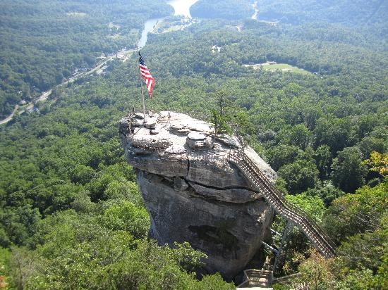 Der Chimney Rock