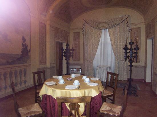 Hotel Palazzo Brunamonti: sala colazione