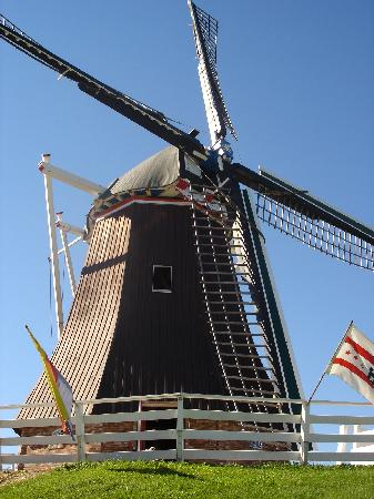 De Immigrant Windmill: Dutch Windmill, Fulton, IL