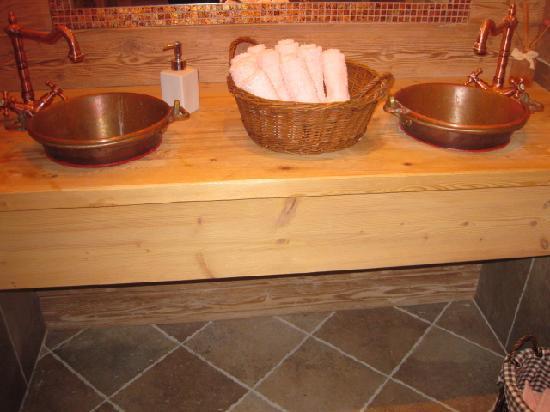 Chalet Fogajard: bagno della sala da pranzo