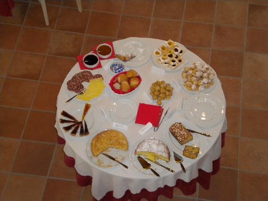 Agriturismo San Salvar: colazione