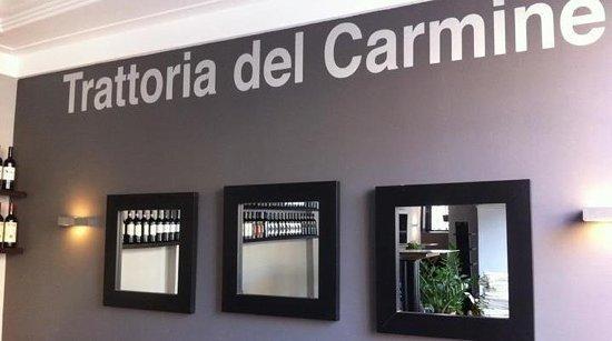 Trattoria del Carmine: sala interna