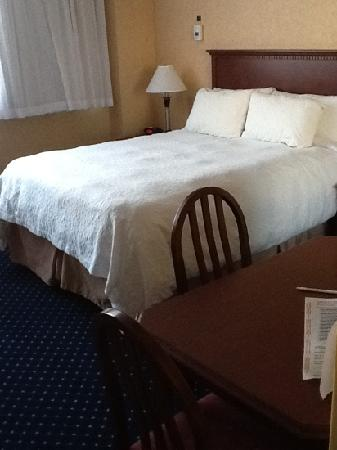 BEST WESTERN PLUS Suites Downtown: second floor standard room: bed