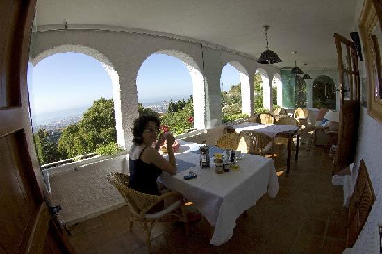 Casa Caleta: sala della colazione