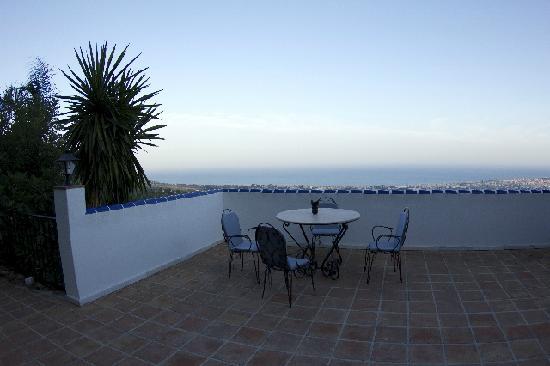 Casa Caleta: vista del mare dalla terrazza