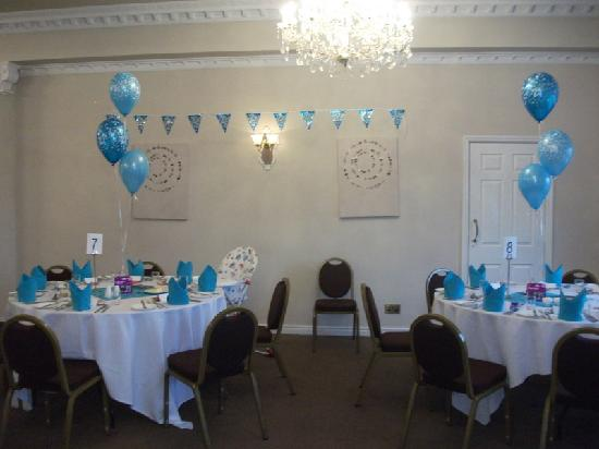 Gateway to Wales Hotel: The function room